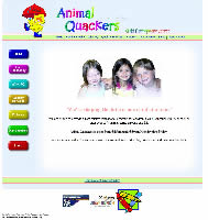 Web design Animal Quackers