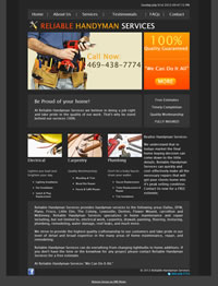 Web design Reliable Services